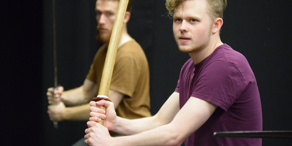 Stage Combat 3 Day Intensive Exam Course: Broadsword