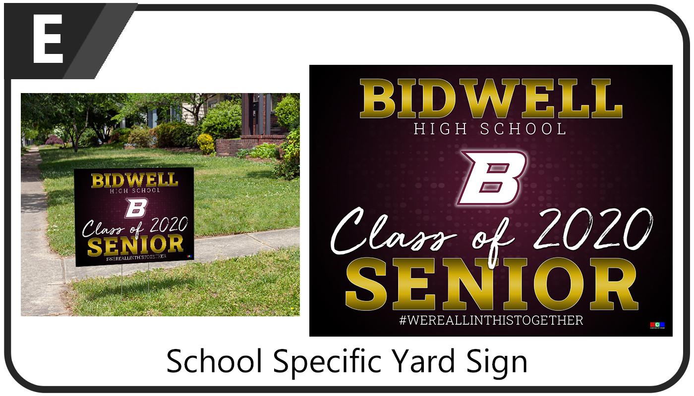 Yard Sign E