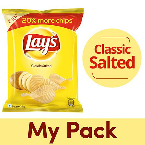 Each Bag Of Lays Classic Salted Potato Chips Is A Reminder How Good The Simple Life Delicious Individual Bags Perfect