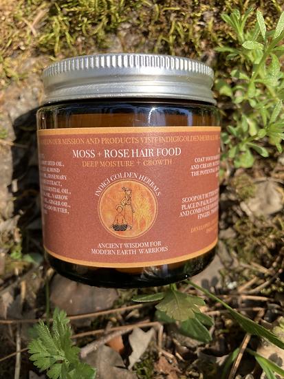 Moss + Rose Hair Food