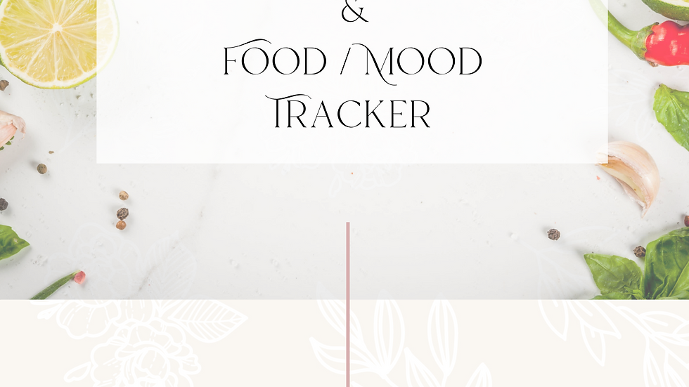 Meal Planner and Food / Mood Tracker