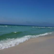 Emerald Green waters of Florida's Panhandle Gulf Coast