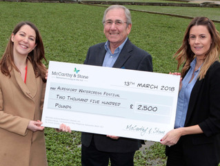 Watercress Festival Receive Welcome Donation From Local Housebuilder