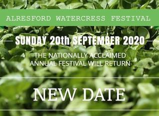 Alresford Watercress Festival Postponed