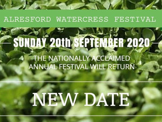 Alresford Watercress Festival Postponed