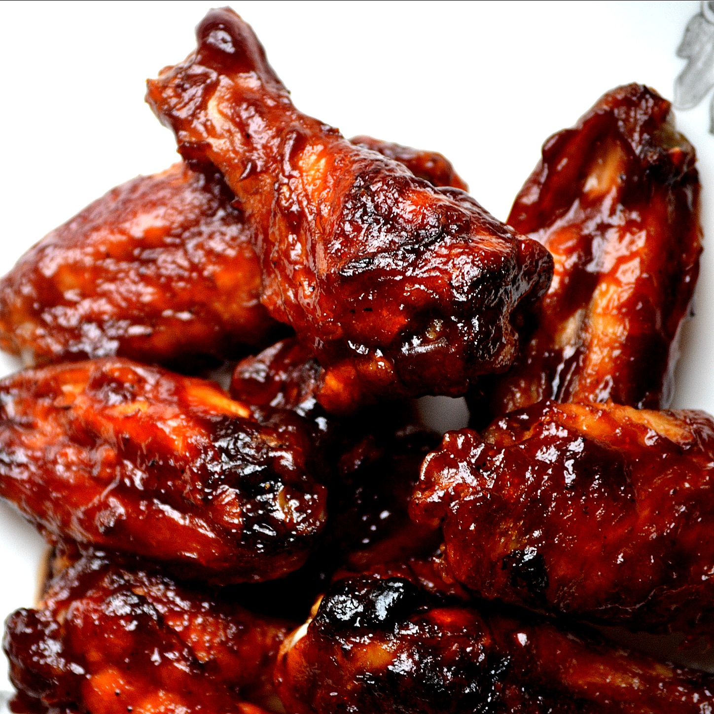 Chicken wing barbeque