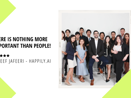 Helping Companies Help Employees Stay Happy - Meet Tareef Jafferi, Founder of Happily.ai