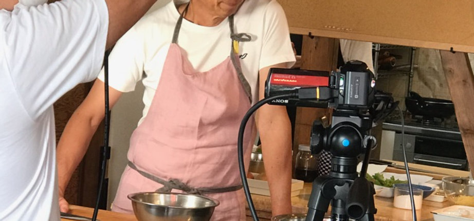 ハタケタナカ 田中先生 オンライン料理教室 HAPPY Food Online3