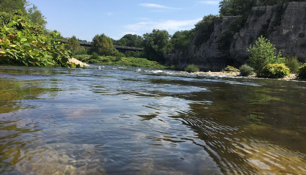 Rivière le Chassezac