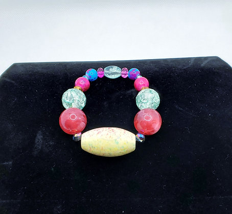 Candy Paint Ceramic Bracelet