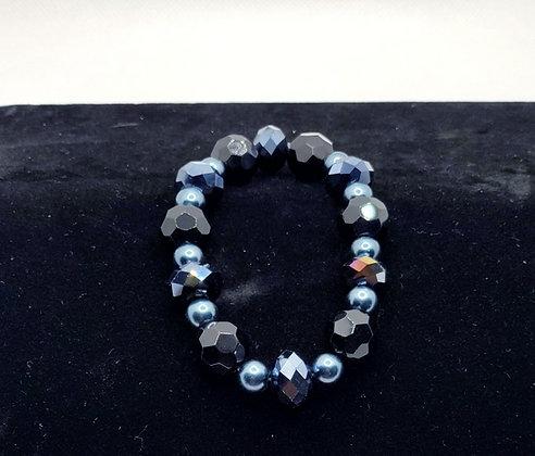 Black and Blue Bracelet