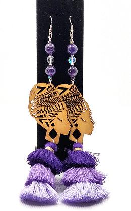 Royal Purple Fly Girl