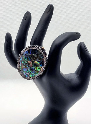 Abalone Gem Ring