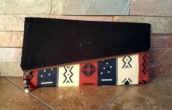 Mud Cloth Clutch Bag