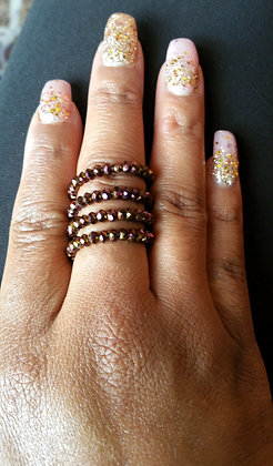 Bronze Wire Wrap Ring
