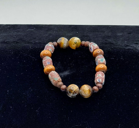 Naturally Brown with Tigers Eye