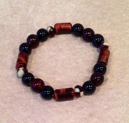 Red Tigers Eye Bracelet