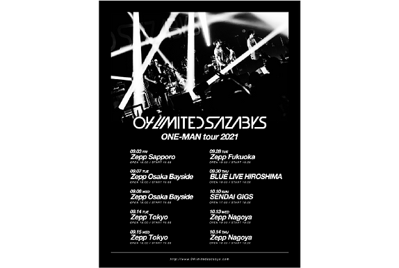 04 Limited Sazabys 「ONE-MAN tour 2021」