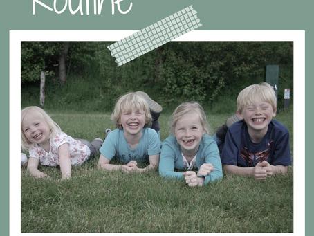 Hoe belangrijk is routine bij jonge kinderen?