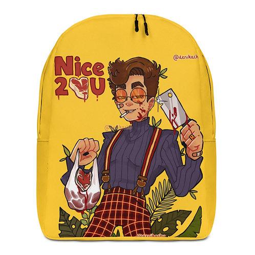 Nice 2 meat U - Denikachu Minimalist Backpack