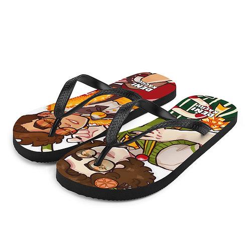 Festive - Denikachu Flip-Flops