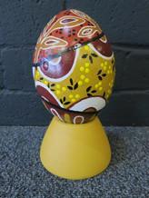 Carved Emu Egg