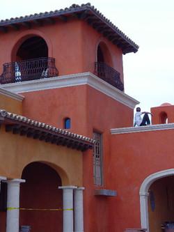 Spanish Hacienda Wine Towers