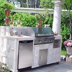 Outdoor Living Pergola Kitchens