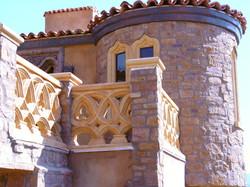 Mizner Window Stone Double Radius 2