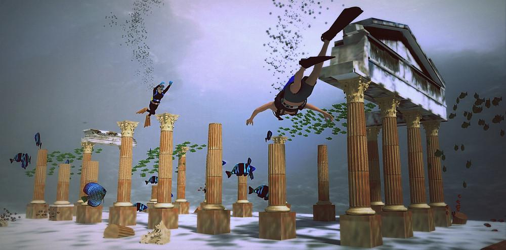 Reef Life ART DIVE Roman Ruins