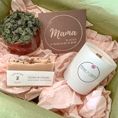 Box 1 -  Peony & Cream