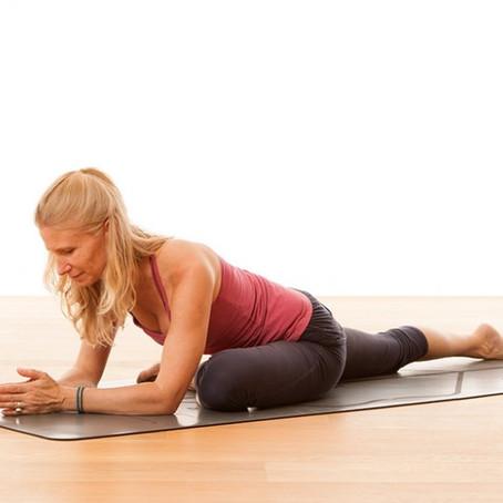 Tension versus compression in yoga