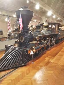 An old steam engine