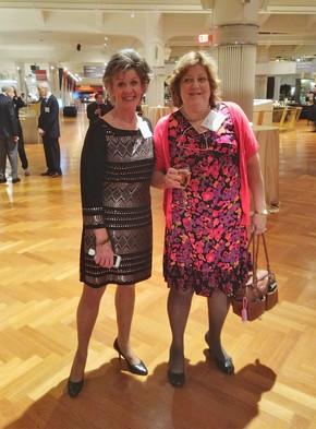 Diane, the programs director at the MPF, and my wife Karen