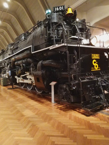 I loved this locomotive... it was HUGE!