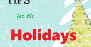 (More) Holiday Tips for Parkies