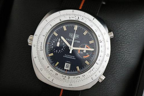Heuer Calculator chronographe
