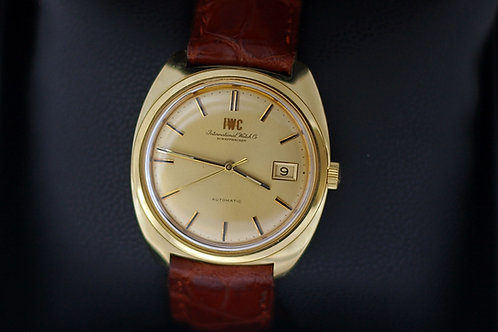 IWC automatic date vintage or jaune