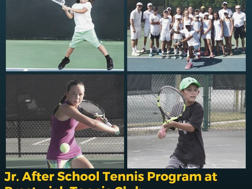 After School Tennis Program