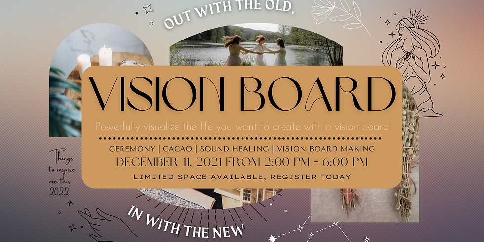 Vision Board: Intention Setting for 2022!