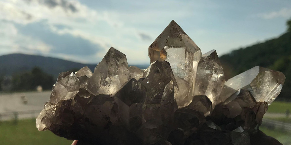 Cultivate stillness. Explore crystal energy. Make connections.