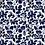 Thumbnail: navy floral fabric mask