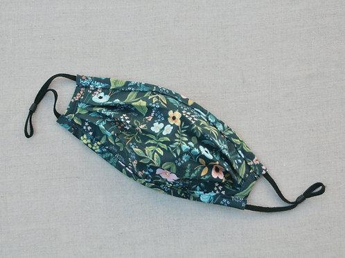 amalfi herb garden fabric mask
