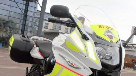 Derbyshire Blood Bikes - Our chosen charity for 2018/19