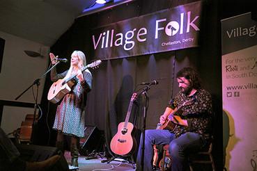 Oka Vanga to play Derby Folk Festival! 7th October.
