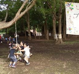 2020夏プレーパーク@くじらやま開催中!