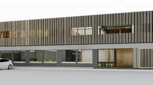 Facade design, House BM. Haarlem (NL)