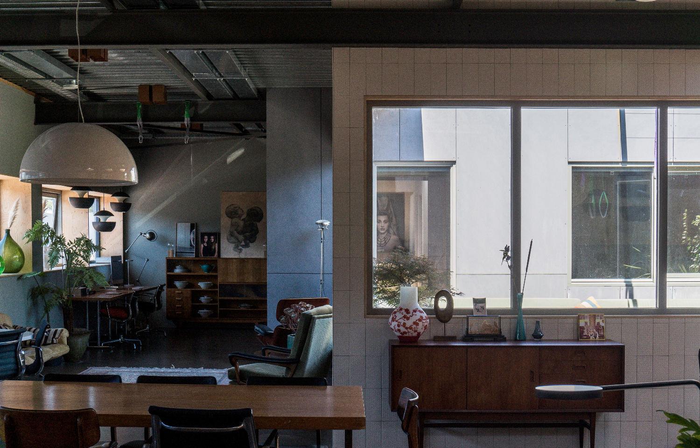 Studio Neering - zichtlijn door  patio