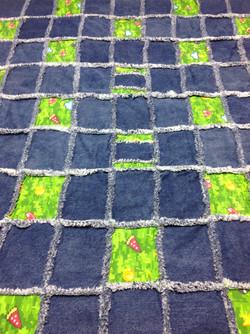 Minecraft Rag Blanket