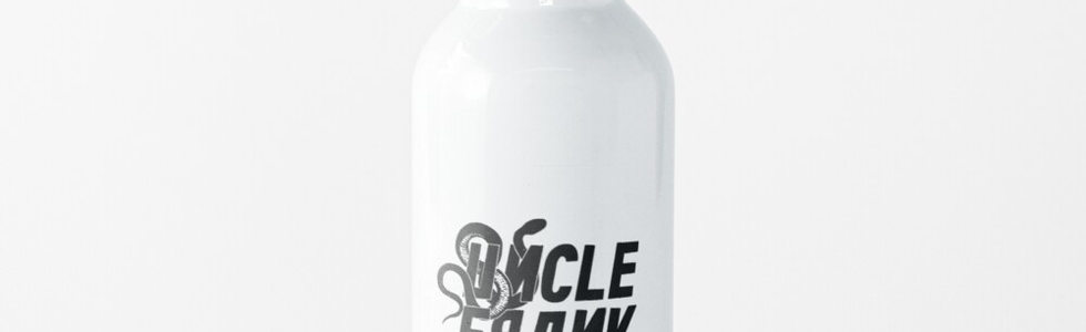 Uncle Frank Logo-water-bottle